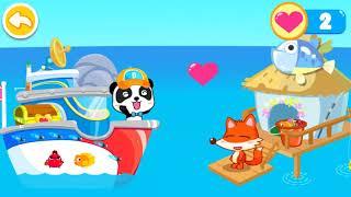 Little Panda Captain fight with pirates | Police Cartoon | Kids Cartoon | Peter Kids