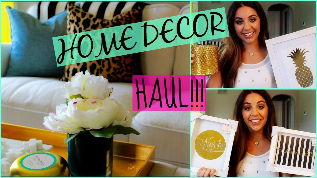 Huge Home Decor Haul Home Goods Target Tjmaxx Doovi