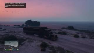 GRAND THEFT AUTO 5...ONLINE...DETACHING THE TRAILER...MOBILE OPERATIONS CENTER...GUNRUNNING