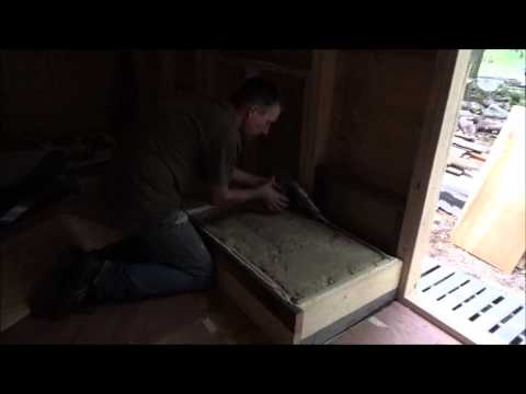 Finished Framing And Insulating Tiny Home Wheel Well