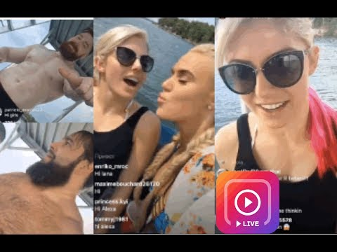 WWE Boat Party ft. Alexa Bliss, Lana, Rusev, Sheamus and Nia Jax! (FUNNY) (IG LIVE)