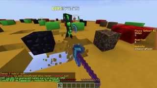 A COMEEER!! Minecraft Mini-Juego Olimpocraft | Pizza Spleef #1