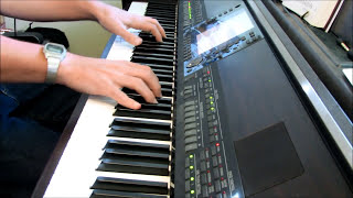 To God Be the Glory - piano instrumental hymn