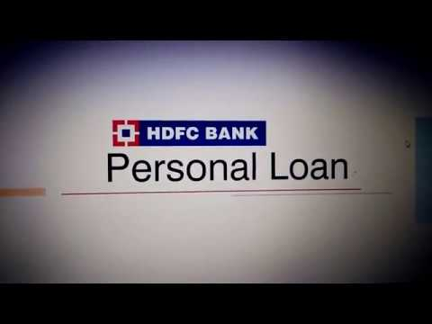 HDFC BANK PERSONAL LOAN - YouTube
