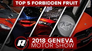 Cool cars at Geneva that the US will never get - Top 5 forbidden fruit