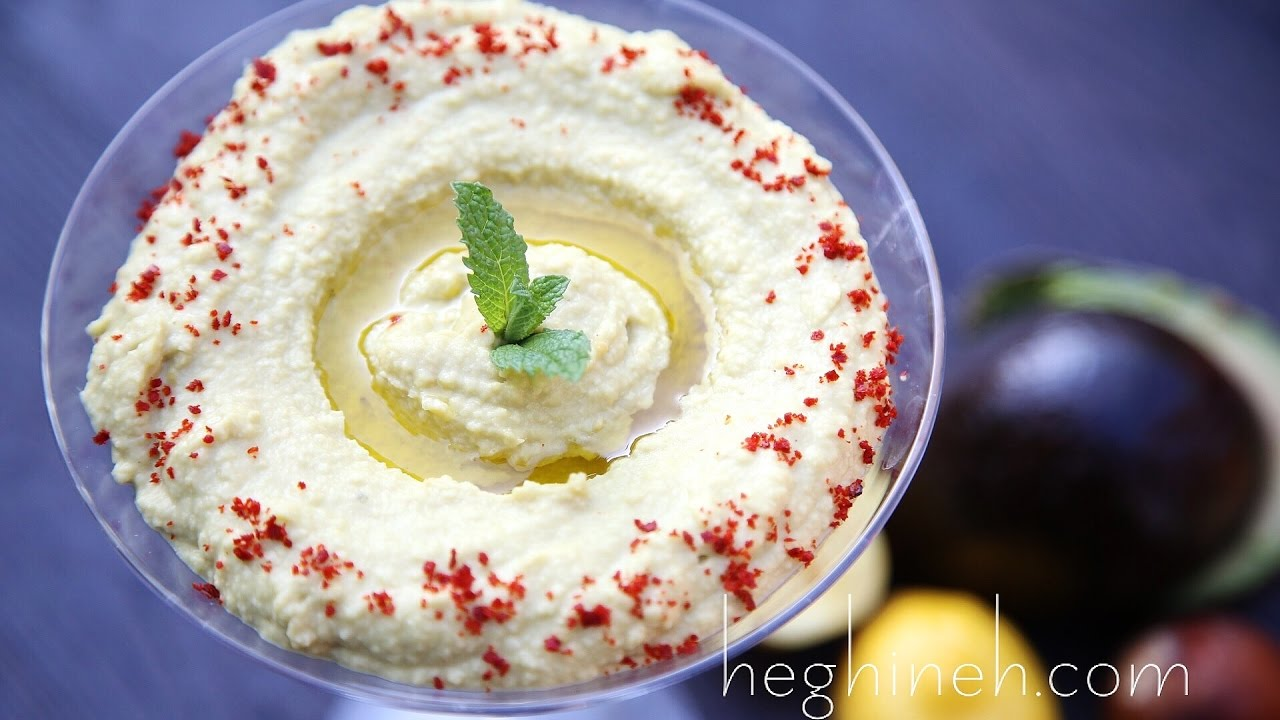 Avocado hummus recipe heghineh cooking show youtube avocado hummus recipe heghineh cooking show forumfinder Images