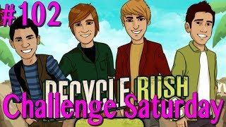 RECYCLE!!! - Big Time Rush Recycle Rush - Challenge Saturday Ep 102