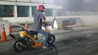 Scooter drag 201 M. 9.183 sec.