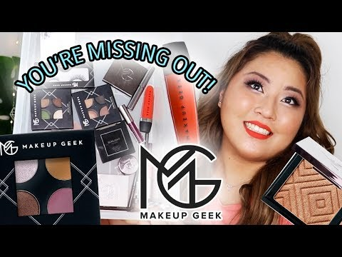 what happened to Makeup Geek? Let me freakin tell you *i bought SO much* thumbnail