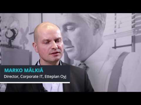 Marko Mälkiä, Director, Corporate IT, Etteplan Oyj at 600Minutes Executive IT 2017, Finland part2
