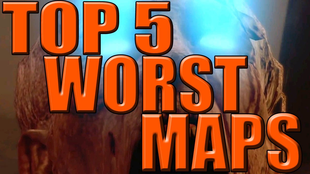 Top 5 WORST ZOMBIE Maps! (Call of Duty Countdown!)