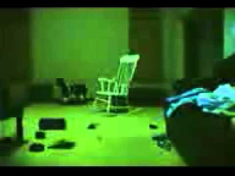 La silla que se mueve sola
