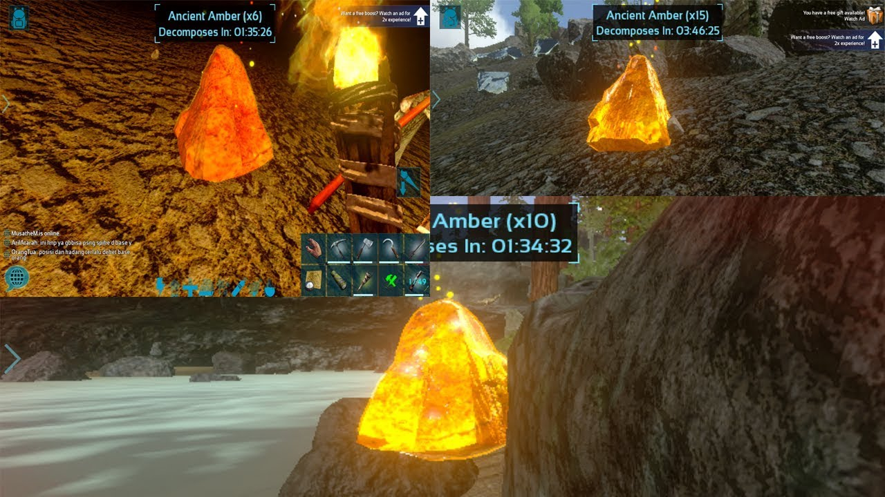 Nemuin Gratis Acient Amber Ark Survival Evolved Mobile