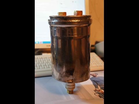 Сухопарник ( барботер)  из нержавейки трубы  дымохода . Как сделать сухопарник из нержавейки