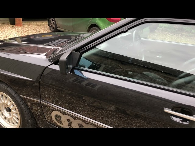 Lot 601 April 9th 2021 A 1986 Audi Quattro 10V Turbo