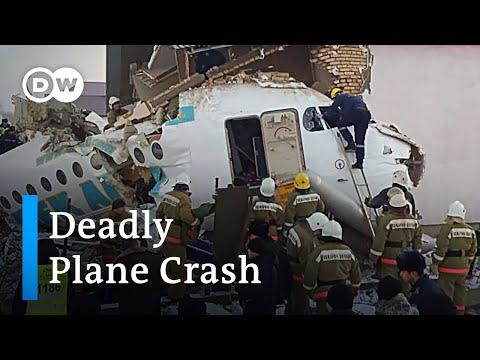 Plane crashes into house in Kazakhstan   DW News