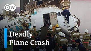 Plane crashes into house in Kazakhstan |
