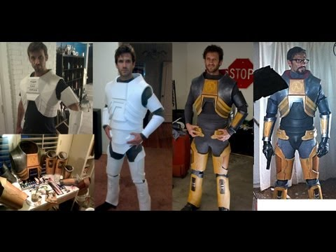Painting the Gordon Freeman H.E.V. suit
