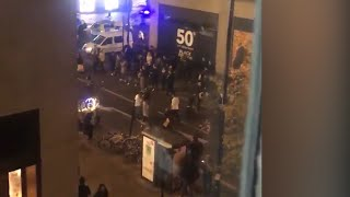 Shoppers on Oxford Street in central London file into street as police respond to incident