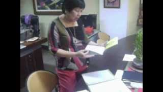 SEED @ Division Office January 3, 2012 wit Dr. Corazon Rubio - video clip 1