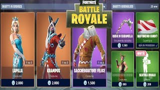 FORTNITE ITEM SHOP TODAY 25/12 | NEW CHRISTMAS SKIN LAPILLA | FORTNITE DAILY SHOP