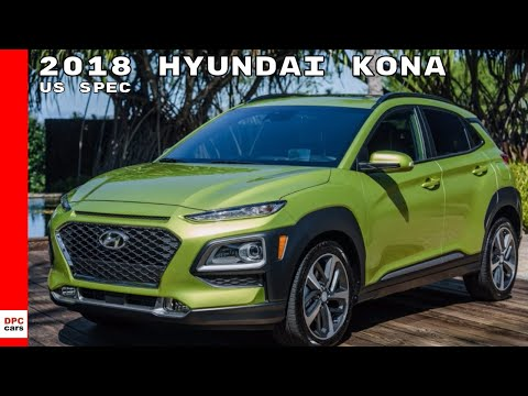 US Spec 2018 Hyundai KONA Test Drive, Design, Interior