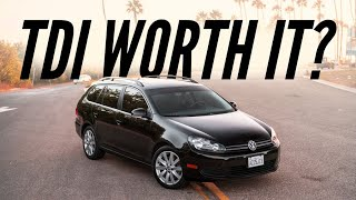 Should You Buy a TDI Diesel VW? | The Best Deal In Used Cars Right Now!