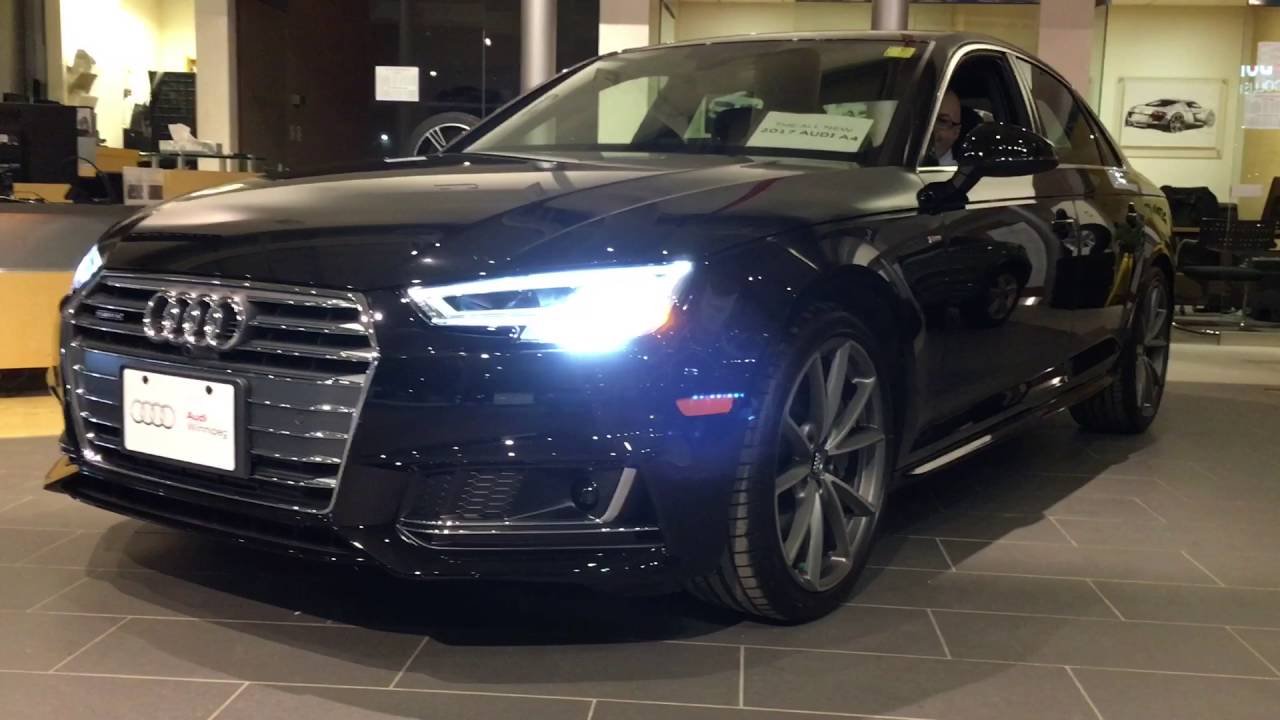 2017 Audi A4 New Headlights And Tail Lights Audi Winnipeg Youtube
