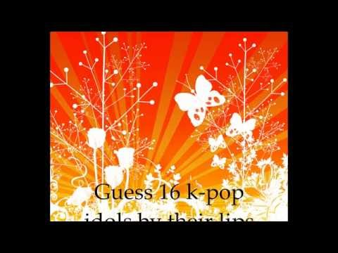 kpop lips quiz