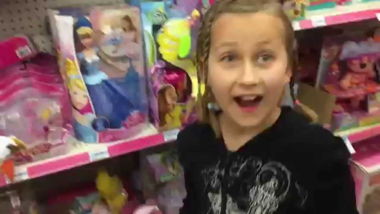PICKING OUT CHRISTMAS GIFTS with Grims Toy Show at KMART - YouTube
