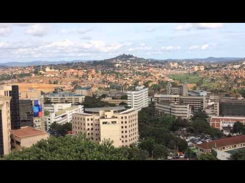 Birds Eye Sight of Kampala Uganda