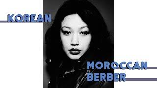 The Unusual Story of a Half-Korean, Half-Berber Girl (Amazigh)