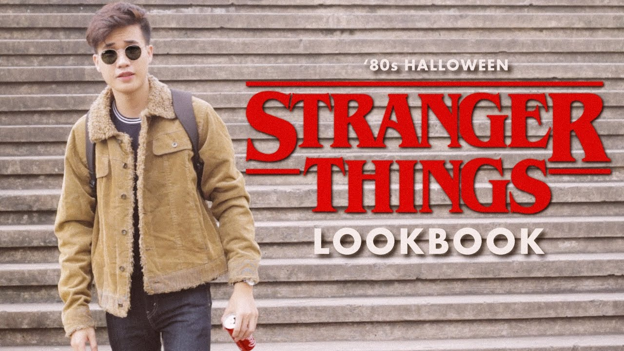 Stranger Things 80s Lookbook Halloween 2017 Outfits Mens