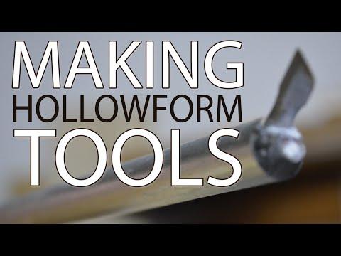 Make Woodturning Hollowing Tools & Fantastic Vessels