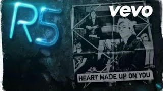 r5 heart made up on you new official ep vlog
