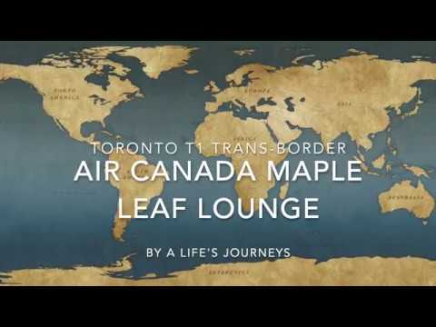 Air Canada Maple Leaf Lounge At Toronto Pearson Airport Terminal 1 - US Departures