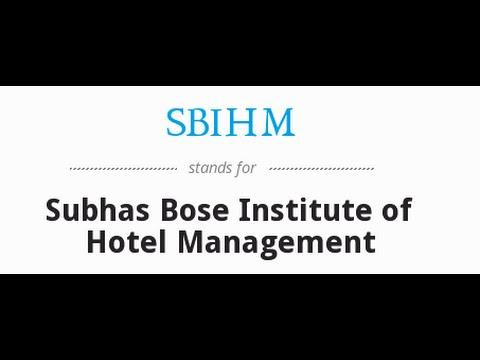 Best BBA, BCA, Hotel Management Institute In Kolkata, West Bengal | Sbihm