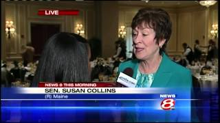 Senator Susan Collins to speak at Eggs & Issues breakfast