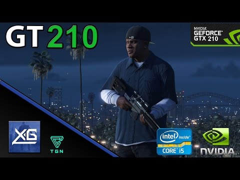 Grand Theft Auto V On Nvidia Geforce GT 210 1GB DDR3 | 600p | LOW | FPS - TEST