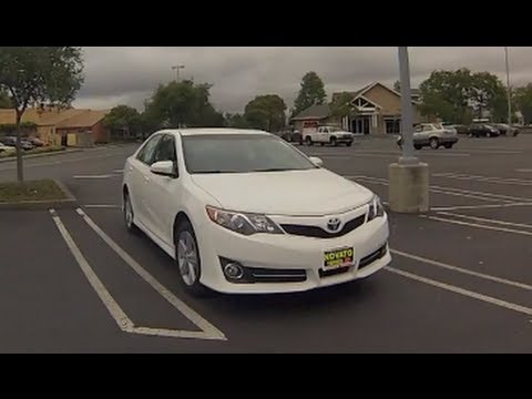 Great 2013 Toyota Camry SE In Depth Review   YouTube