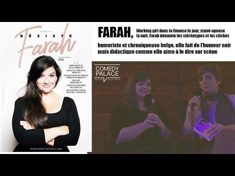 Les RDV Cultur'l avec FARAH   Comédy Palace Valence