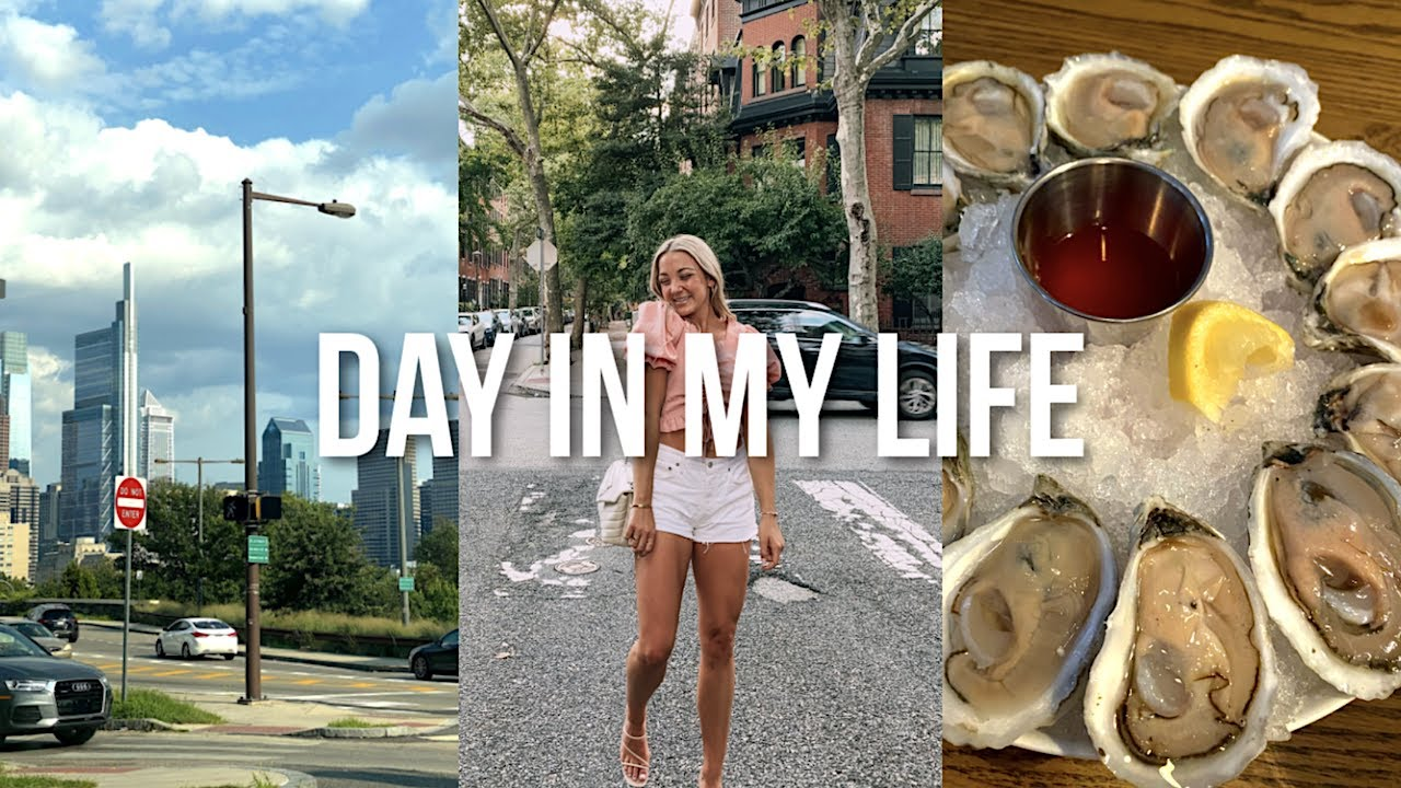 VLOG: a day in philly, shopping + going on a double date !