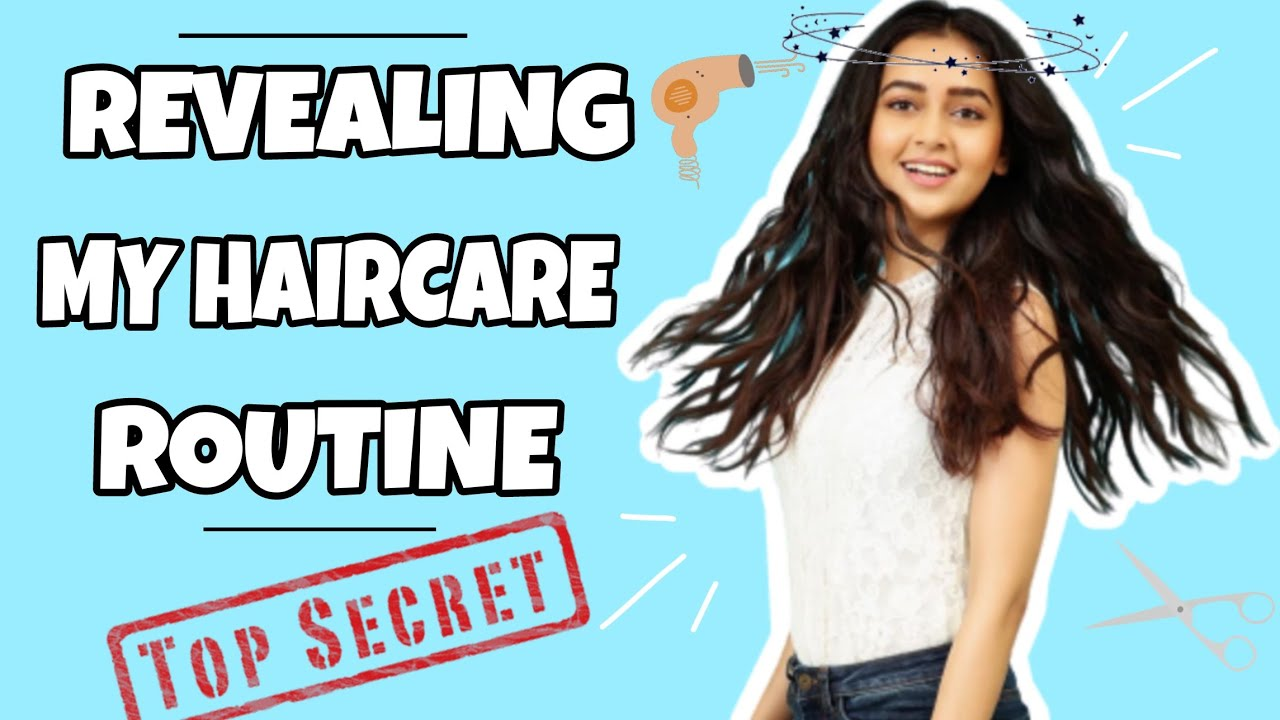 Revealing My Hair Care Routine - Tejasswi Prakash