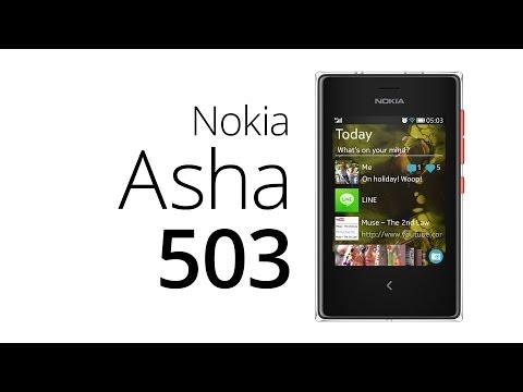 Nokia Asha 503 (recenze)