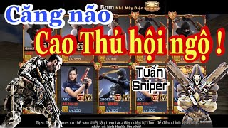 CF Mobile/CF Legends | Va chạm với idol Tuấn Sniper | Gặp các CAO THỦ ĐẤU GIẢI | Duy Woo | AK47.