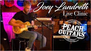 Joey Landreth Clinic Live at Peach Guitars