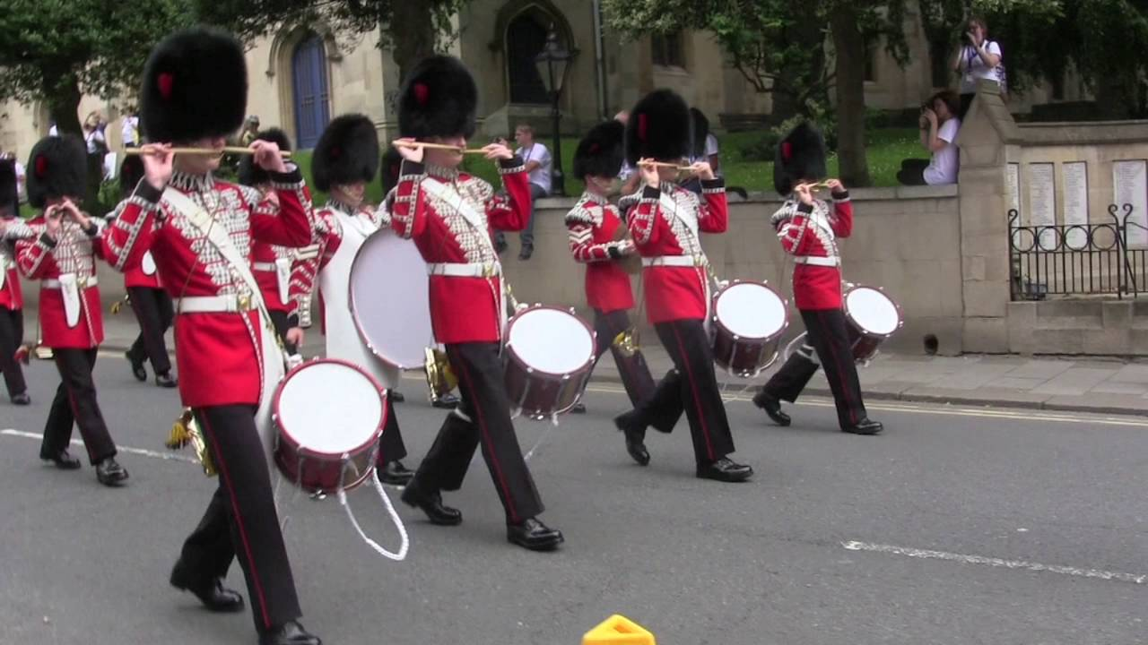 Coldstream Guards Corps of Drums, Changing the Guard: Windsor, July 4, 2016
