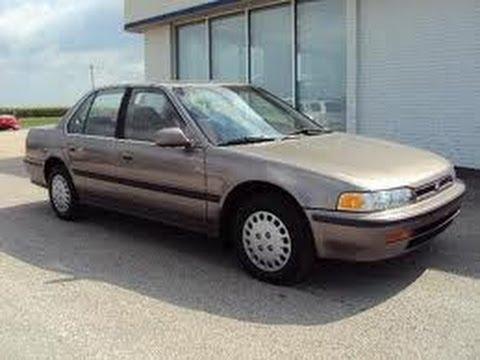 Look at a 1993 Honda Accord LX - YouTube