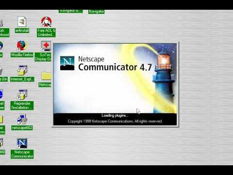 Netscape communicator 4.71