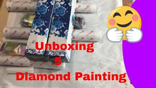 Unboxing Diamond Painting.  Review. Best Store On AliExpress.